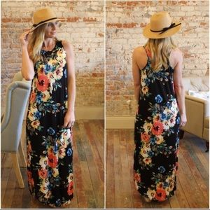 Infinity Raine Floral Maxi Dress